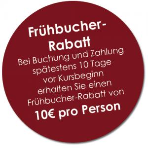 Fruehbucherrabatt